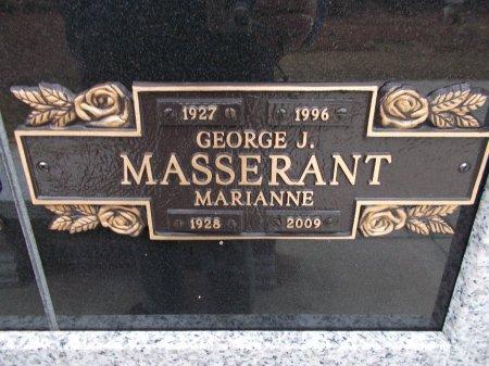 MASSERANT, GEORGE J. - Jefferson County, Tennessee | GEORGE J. MASSERANT - Tennessee Gravestone Photos
