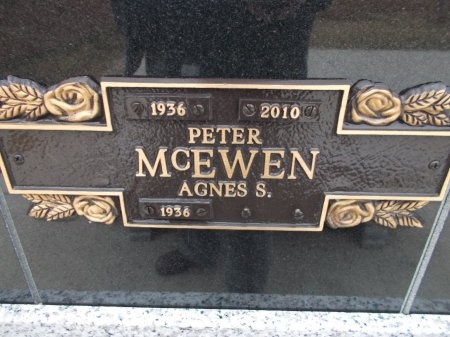 MCEWEN, PETER - Jefferson County, Tennessee | PETER MCEWEN - Tennessee Gravestone Photos