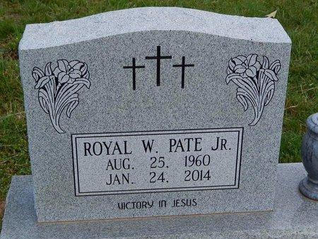 PATE JR, ROYAL W - Jefferson County, Tennessee | ROYAL W PATE JR - Tennessee Gravestone Photos