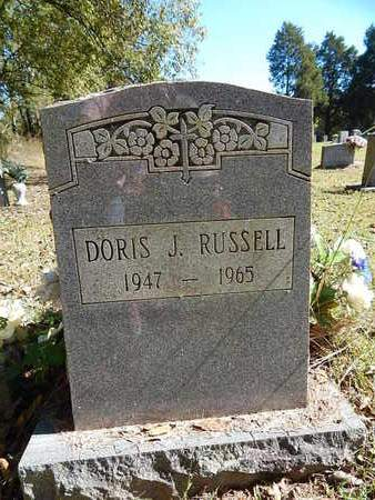 RUSSELL, DORIS J - Jefferson County, Tennessee   DORIS J RUSSELL - Tennessee Gravestone Photos