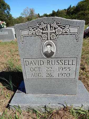 RUSSELL, DAVID - Jefferson County, Tennessee | DAVID RUSSELL - Tennessee Gravestone Photos