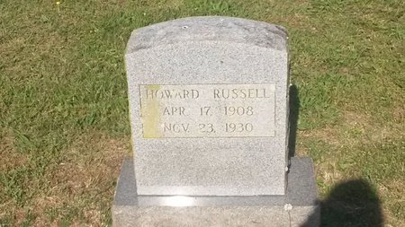 RUSSELL, HOWARD - Jefferson County, Tennessee   HOWARD RUSSELL - Tennessee Gravestone Photos