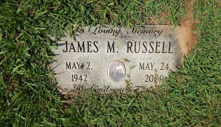 RUSSELL, JAMES M - Jefferson County, Tennessee   JAMES M RUSSELL - Tennessee Gravestone Photos