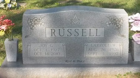 RUSSELL, CARROLL W - Jefferson County, Tennessee | CARROLL W RUSSELL - Tennessee Gravestone Photos