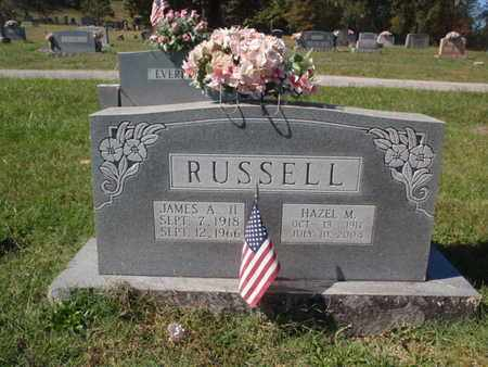 RUSSELL, JAMES A II - Jefferson County, Tennessee | JAMES A II RUSSELL - Tennessee Gravestone Photos