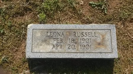 RUSSELL, LEONA - Jefferson County, Tennessee | LEONA RUSSELL - Tennessee Gravestone Photos