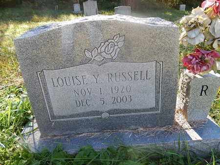 RUSSELL, LOUISE - Jefferson County, Tennessee   LOUISE RUSSELL - Tennessee Gravestone Photos