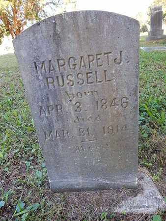RUSSELL, MARGARET J - Jefferson County, Tennessee | MARGARET J RUSSELL - Tennessee Gravestone Photos