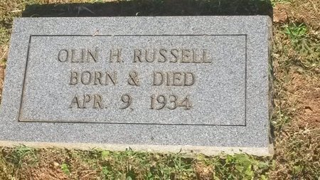 RUSSELL, OLIN H - Jefferson County, Tennessee | OLIN H RUSSELL - Tennessee Gravestone Photos