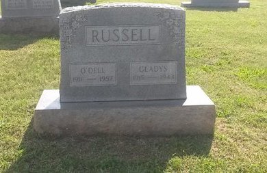 RUSSELL, O'DELL - Jefferson County, Tennessee | O'DELL RUSSELL - Tennessee Gravestone Photos