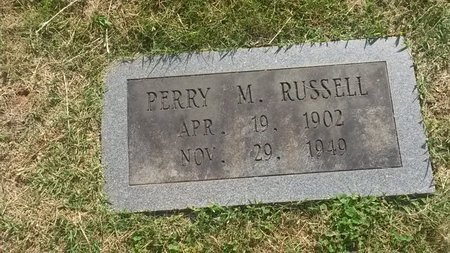 RUSSELL, PERRY M - Jefferson County, Tennessee   PERRY M RUSSELL - Tennessee Gravestone Photos