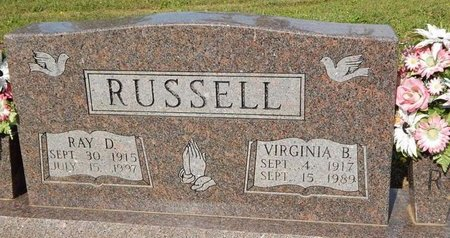 RUSSELL, VIRGINIA B - Jefferson County, Tennessee | VIRGINIA B RUSSELL - Tennessee Gravestone Photos