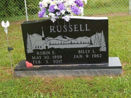 RUSSELL, ROBIN E - Jefferson County, Tennessee   ROBIN E RUSSELL - Tennessee Gravestone Photos