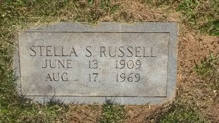 RUSSELL, STELLA S - Jefferson County, Tennessee | STELLA S RUSSELL - Tennessee Gravestone Photos