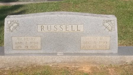 RUSSELL, LUCY M - Jefferson County, Tennessee | LUCY M RUSSELL - Tennessee Gravestone Photos
