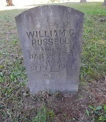 RUSSELL, WILLIAM G - Jefferson County, Tennessee | WILLIAM G RUSSELL - Tennessee Gravestone Photos