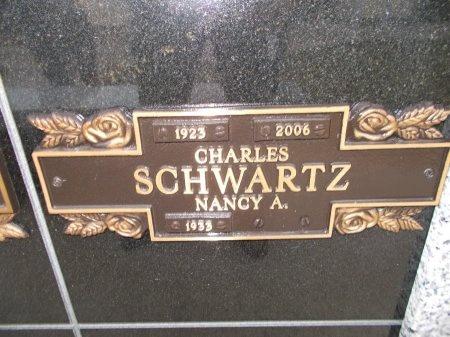 SCHWARTZ, CHARLES - Jefferson County, Tennessee   CHARLES SCHWARTZ - Tennessee Gravestone Photos