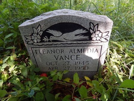 VANCE, ELEANOR ALMEDIA - Jefferson County, Tennessee | ELEANOR ALMEDIA VANCE - Tennessee Gravestone Photos