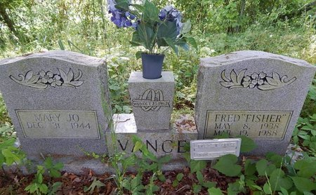 """VANCE, FRED """"FISHER"""" - Jefferson County, Tennessee 