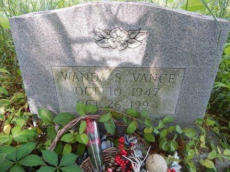 VANCE, WANDA S - Jefferson County, Tennessee   WANDA S VANCE - Tennessee Gravestone Photos