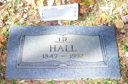 HALL, JAMES R. - Johnson County, Tennessee | JAMES R. HALL - Tennessee Gravestone Photos