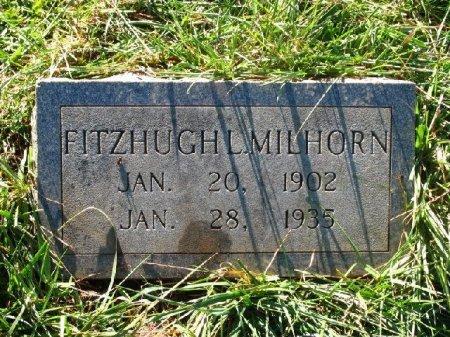 MILHORN, FITZHUGH - Johnson County, Tennessee   FITZHUGH MILHORN - Tennessee Gravestone Photos