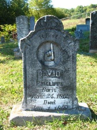 PHILLIPPI, DAVID C. - Johnson County, Tennessee | DAVID C. PHILLIPPI - Tennessee Gravestone Photos