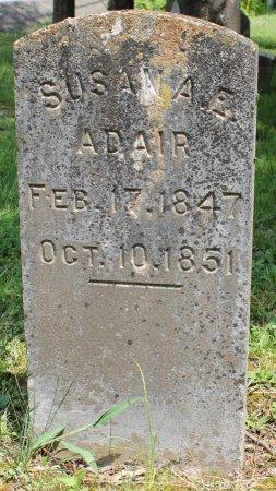 ADAIR, SUSAN A.E. - Knox County, Tennessee   SUSAN A.E. ADAIR - Tennessee Gravestone Photos