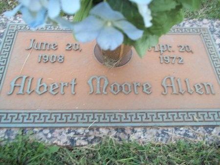 ALLEN, ALBERT MOORE - Knox County, Tennessee | ALBERT MOORE ALLEN - Tennessee Gravestone Photos