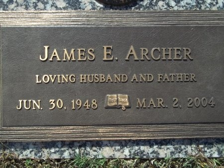 ARCHER, JAMES E. - Knox County, Tennessee | JAMES E. ARCHER - Tennessee Gravestone Photos