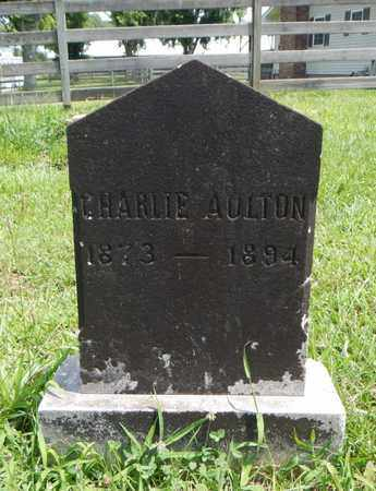AULTON, CHARLIE - Knox County, Tennessee | CHARLIE AULTON - Tennessee Gravestone Photos