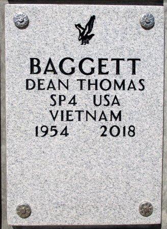 BAGGETT (VETERAN VIET), DEAN THOMAS - Knox County, Tennessee | DEAN THOMAS BAGGETT (VETERAN VIET) - Tennessee Gravestone Photos