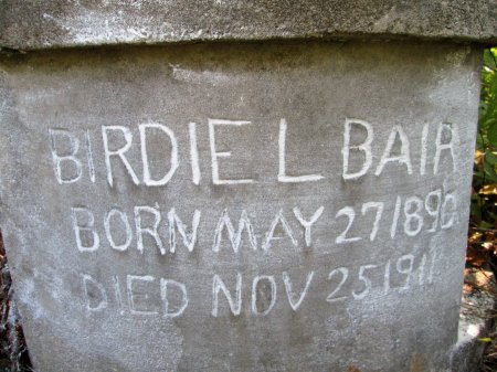 BAIR, BIRDIE L. - Knox County, Tennessee | BIRDIE L. BAIR - Tennessee Gravestone Photos