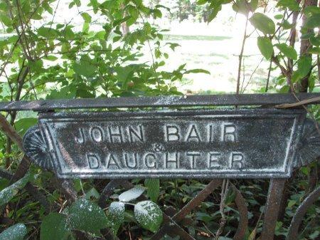 BAIR, DAUGHTER - Knox County, Tennessee | DAUGHTER BAIR - Tennessee Gravestone Photos