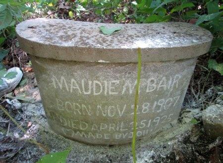 BAIR, MAUDIE M. - Knox County, Tennessee | MAUDIE M. BAIR - Tennessee Gravestone Photos