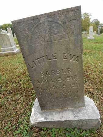 BARBER, EVA - Knox County, Tennessee | EVA BARBER - Tennessee Gravestone Photos