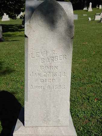 BARBER, LEVI G - Knox County, Tennessee | LEVI G BARBER - Tennessee Gravestone Photos