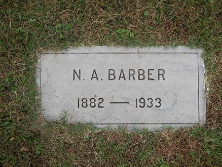 BARBER, NATHAN A - Knox County, Tennessee | NATHAN A BARBER - Tennessee Gravestone Photos