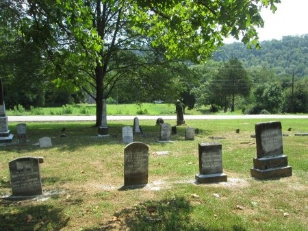 *BROWN CEMETERY VIEW,  - Knox County, Tennessee |  *BROWN CEMETERY VIEW - Tennessee Gravestone Photos