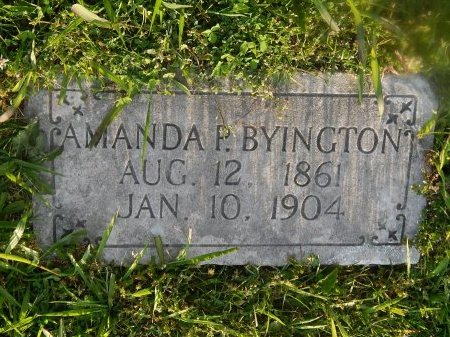 FOX BYINGTON, AMANDA P - Knox County, Tennessee | AMANDA P FOX BYINGTON - Tennessee Gravestone Photos