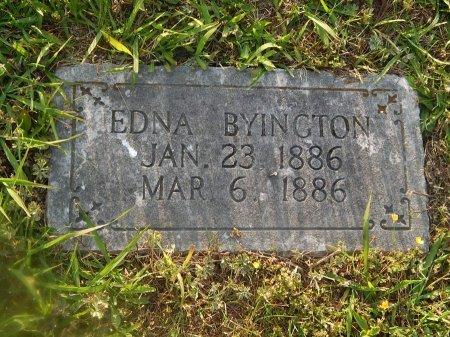 BYINGTON, EDNA - Knox County, Tennessee | EDNA BYINGTON - Tennessee Gravestone Photos