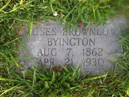 BYINGTON, MOSES BROWNLOW - Knox County, Tennessee | MOSES BROWNLOW BYINGTON - Tennessee Gravestone Photos