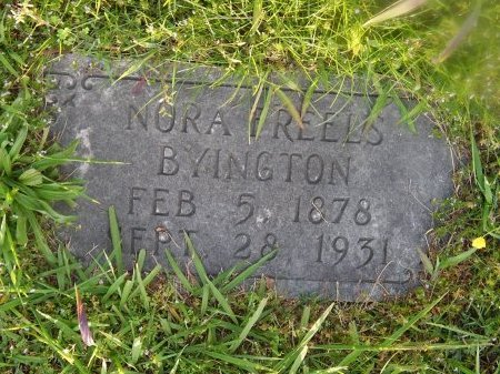 BYINGTON, NORA - Knox County, Tennessee | NORA BYINGTON - Tennessee Gravestone Photos