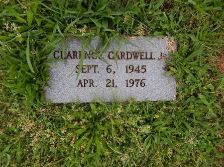 CARDWELL, CLARENCE JR - Knox County, Tennessee | CLARENCE JR CARDWELL - Tennessee Gravestone Photos
