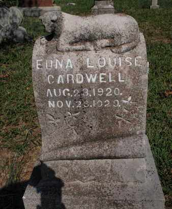 CARDWELL, EDNA LOUISE - Knox County, Tennessee | EDNA LOUISE CARDWELL - Tennessee Gravestone Photos