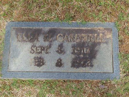CARDWELL, ELLA M - Knox County, Tennessee | ELLA M CARDWELL - Tennessee Gravestone Photos