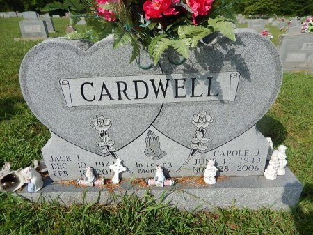 CARDWELL, CAROLE JEAN - Knox County, Tennessee   CAROLE JEAN CARDWELL - Tennessee Gravestone Photos