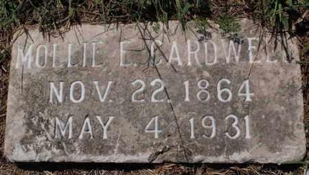 CARDWELL, MOLLIE E - Knox County, Tennessee   MOLLIE E CARDWELL - Tennessee Gravestone Photos