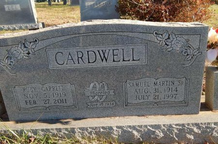 CARDWELL, RUBY - Knox County, Tennessee | RUBY CARDWELL - Tennessee Gravestone Photos