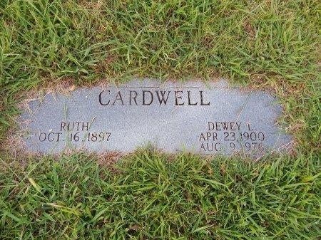 CARDWELL, DEWEY L - Knox County, Tennessee | DEWEY L CARDWELL - Tennessee Gravestone Photos